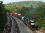 NS 10N at Mile 255 Pittsburgh Line